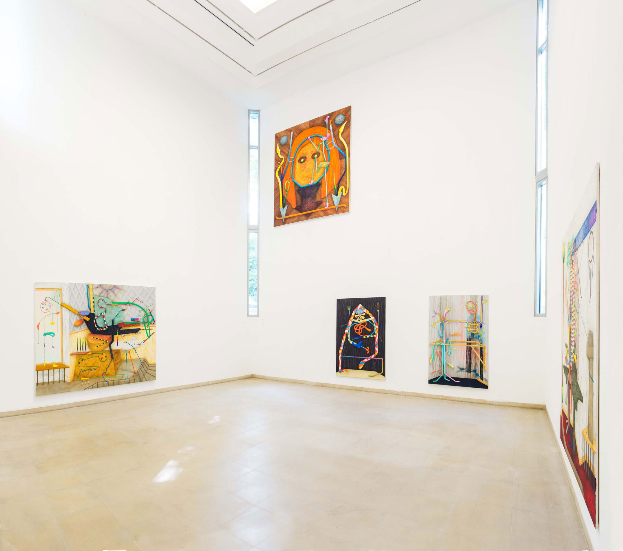 Installation view »70. int. berg. Kunstpreis« at Kunstmuseum Solingen