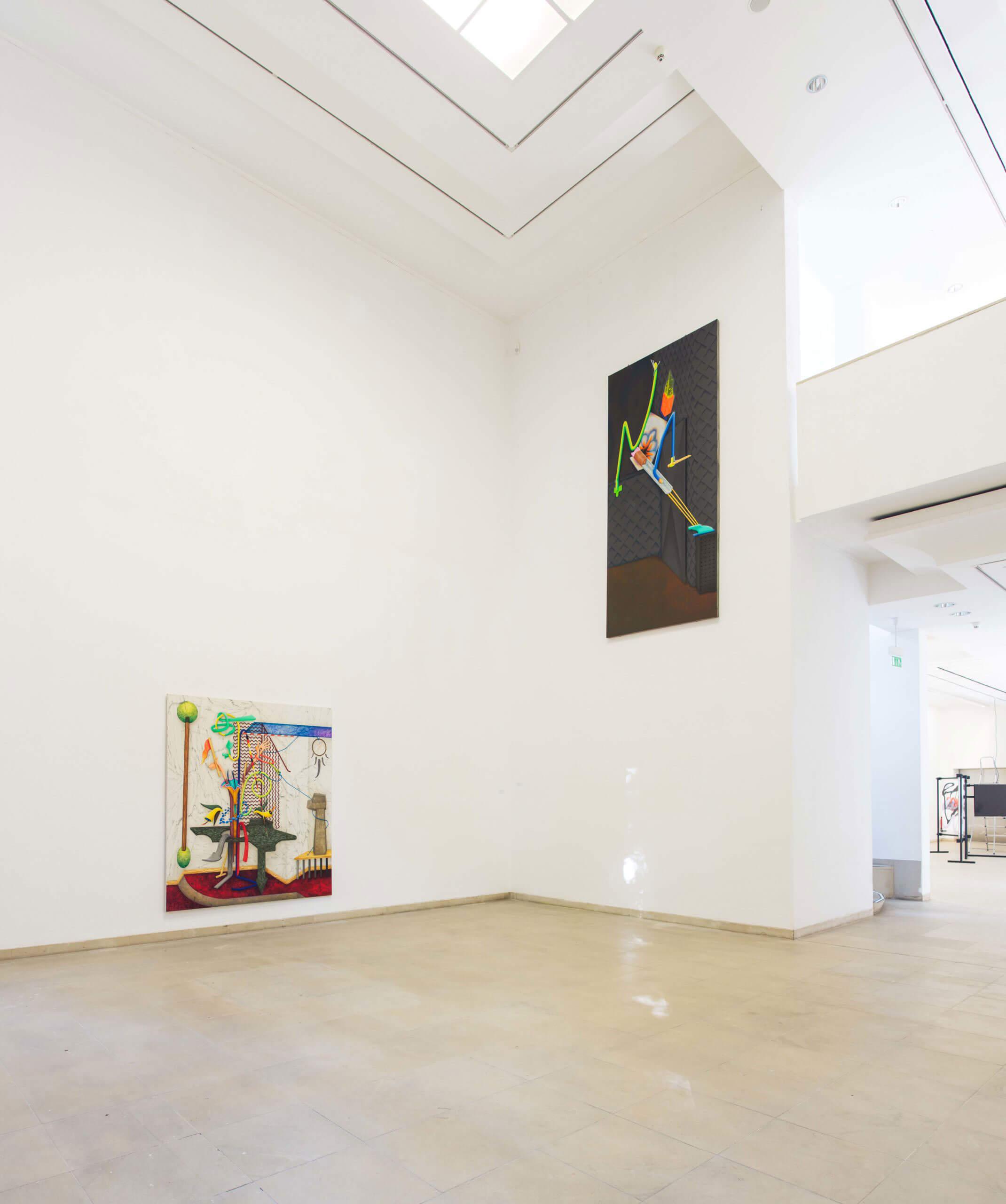 Installation view »70. int. berg. Kunstpreis« at Kunstmuseum Solingen