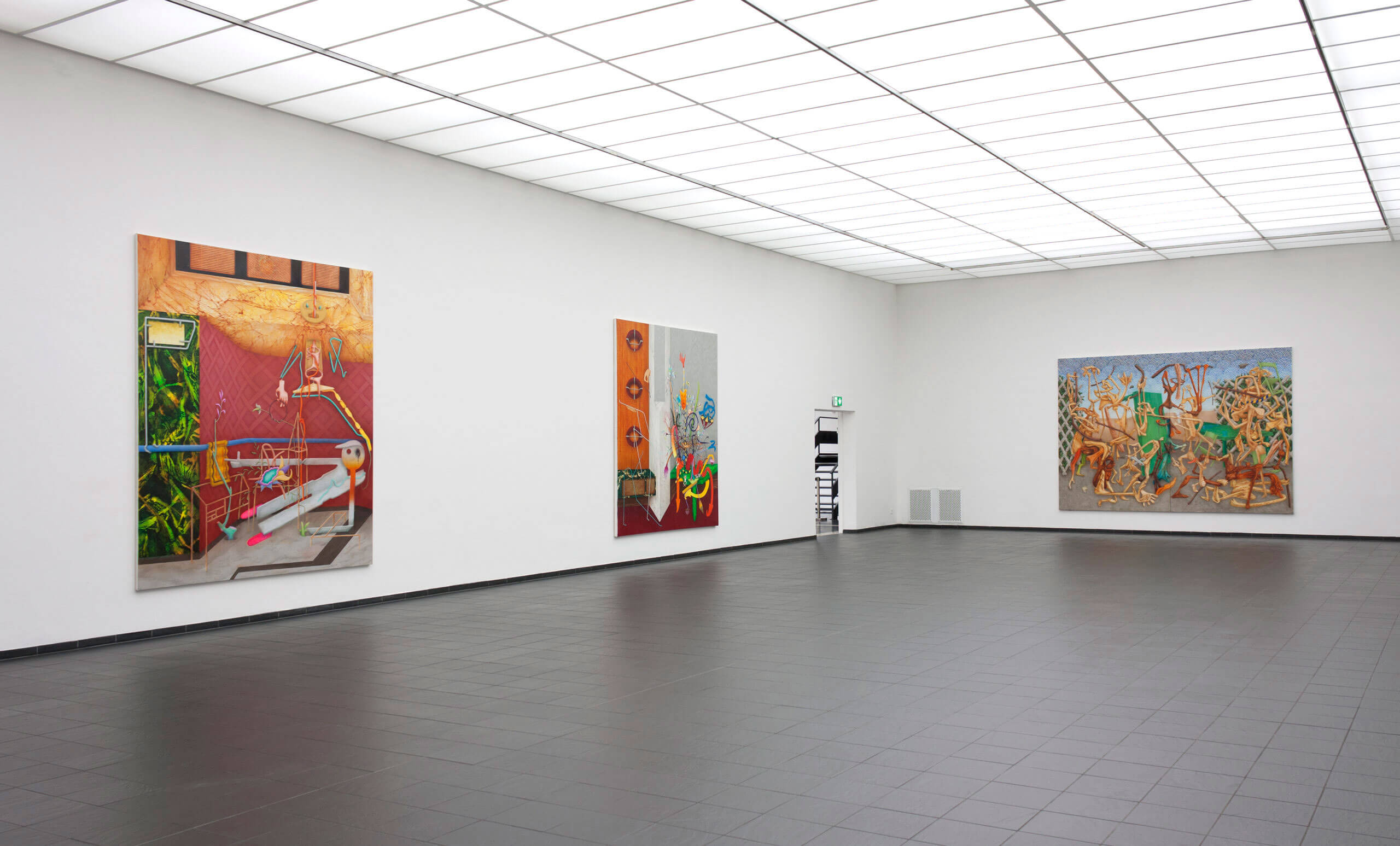 Installation view »He She It« at Kunsthalle Darmstadt