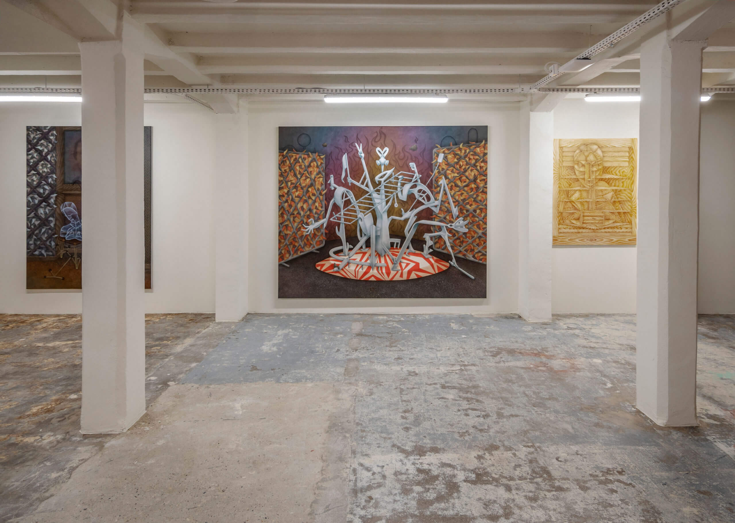 Installation view »Lost and found in Paradis« at Artuner Paris