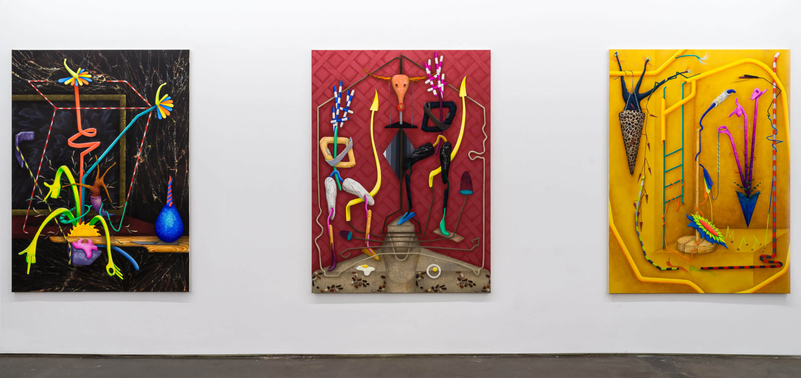 Installation view »Figure of speech« at Artuner New York