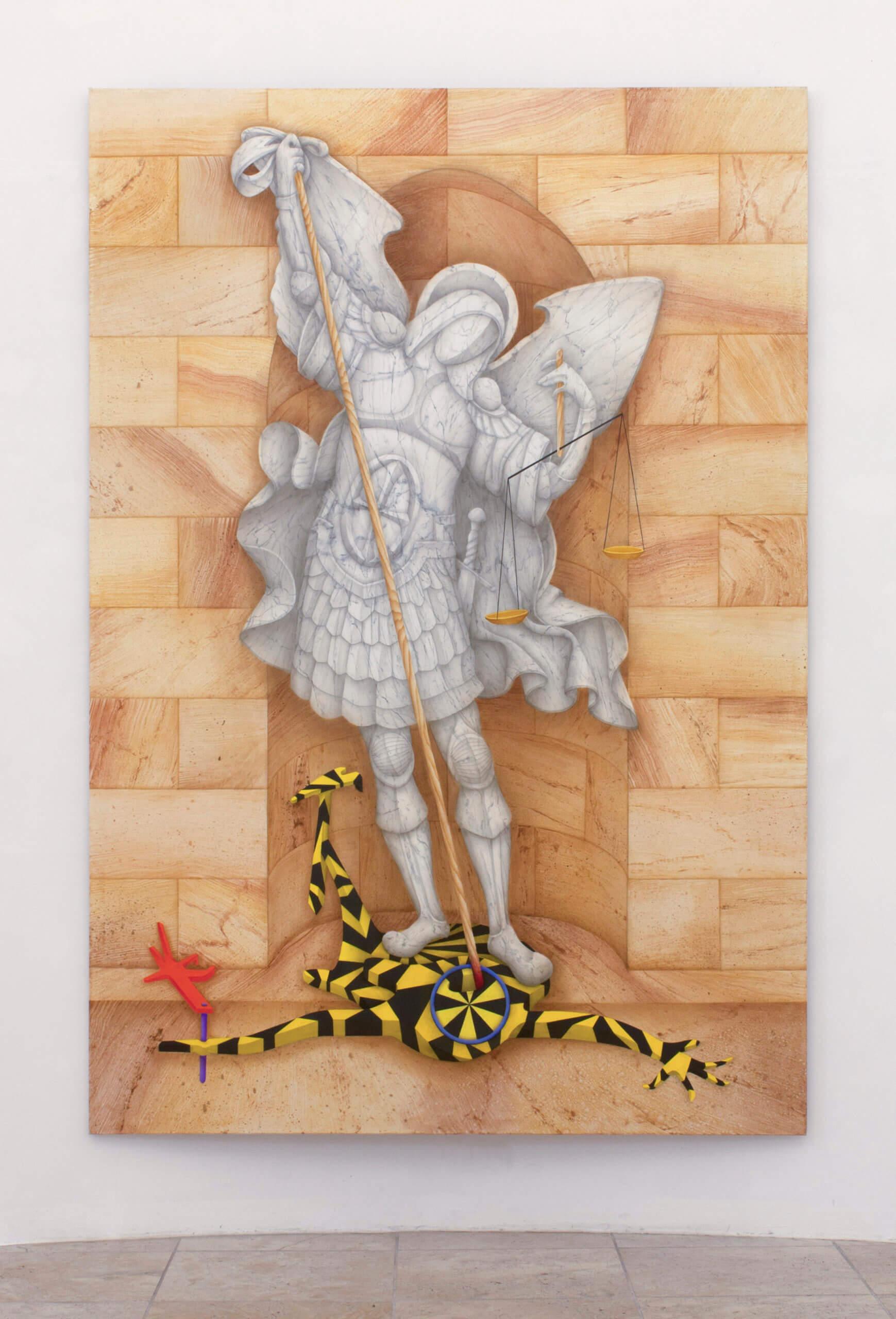 »Micha« 290 x 200 cm Oil on canvas 2019