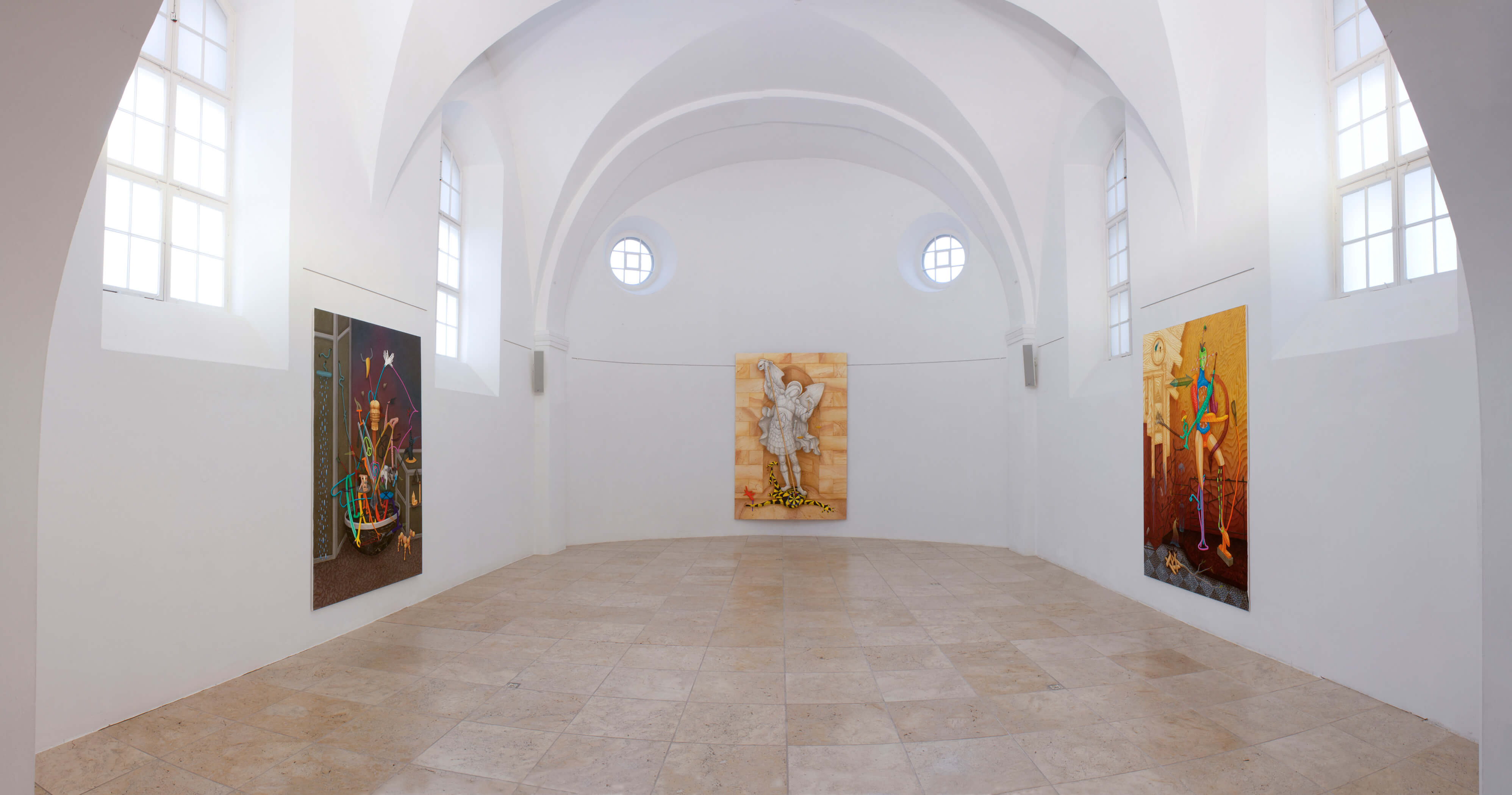 Installation view »Holy Ghost« at Museum Engen