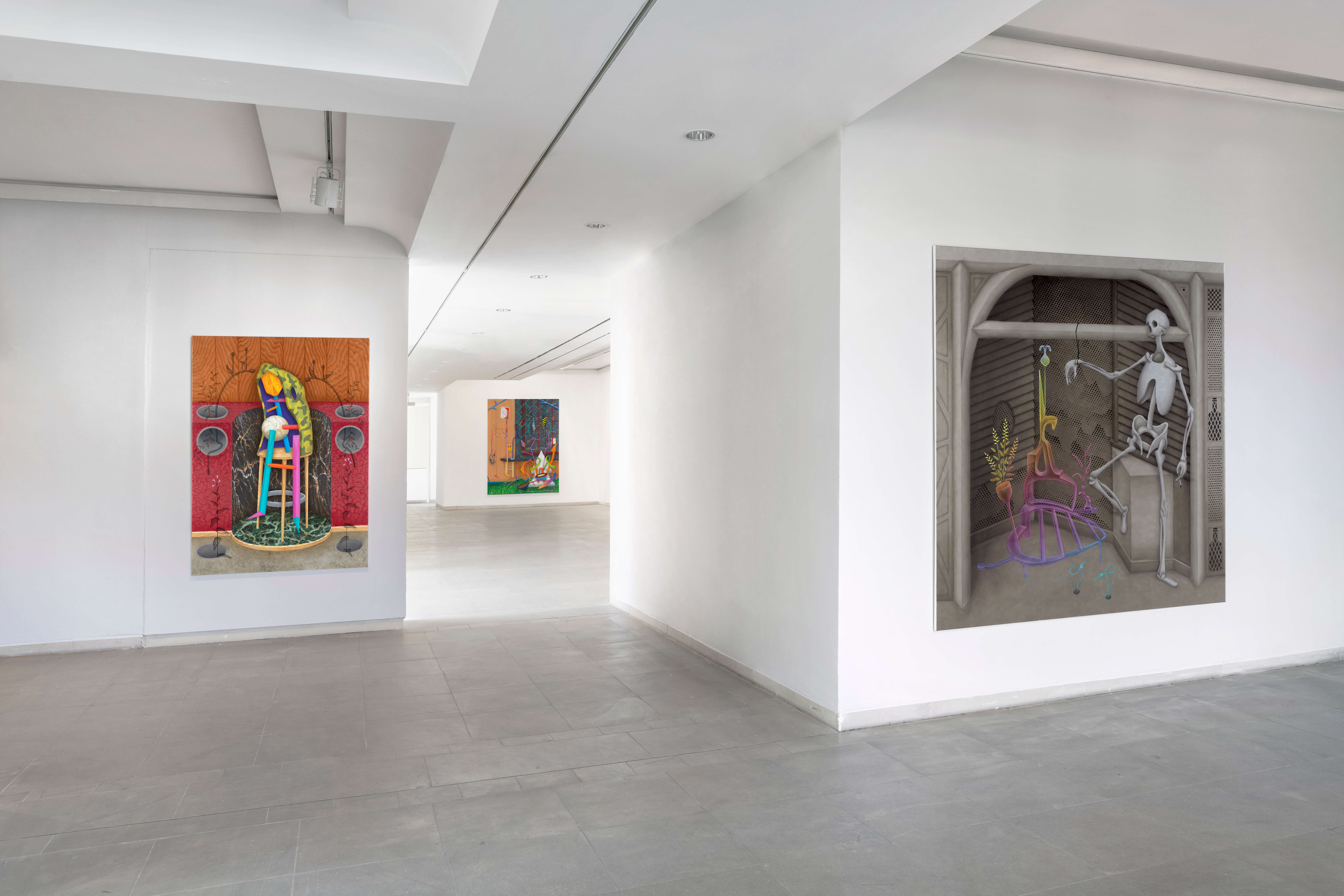 Installation view »David Czupryn« at Kunstmuseum Solingen